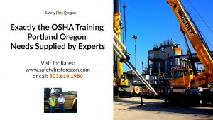 Osha Training Portland Oregon